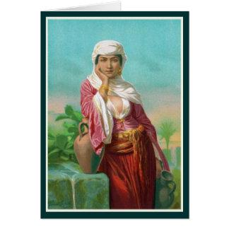 聖書-サマリア人の女性の女性 カード