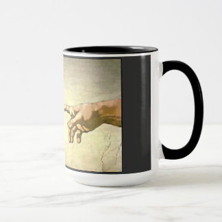 聖書:  神及びアダム マグカップ