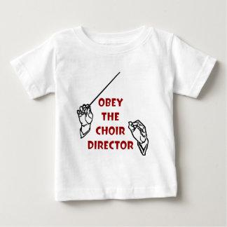 聖歌隊ディレクターに従って下さい ベビーTシャツ