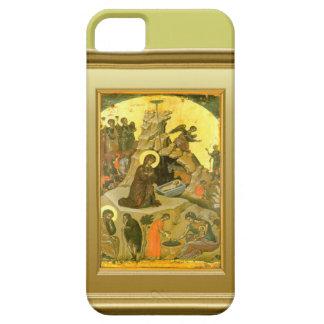 聖母マリアおよび子供イエス・キリストのIkon iPhone SE/5/5s ケース
