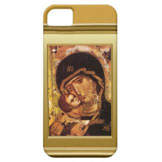 聖母マリアおよび子供イエス・キリスト iPhone SE/5/5s ケース