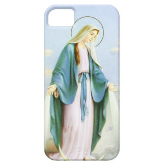 聖母マリアの三日月の月 iPhone SE/5/5s ケース