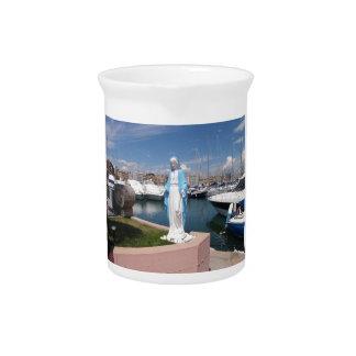 聖母マリアの彫像 ピッチャー
