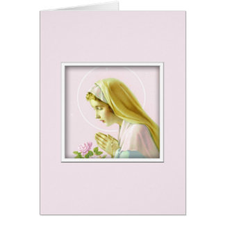 聖母マリアの祈りの言葉カード カード