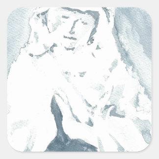 聖母マリアの祈ること スクエアシール