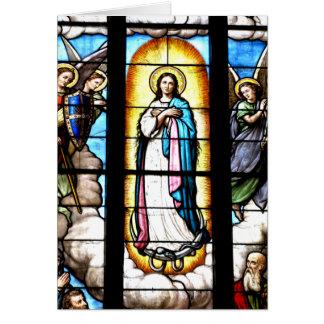 聖母マリアの窓 カード