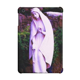 聖母マリアの紫色の彫像 iPad MINI RETINAケース