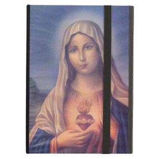 聖母マリアの美しい宗教神聖なハート iPad AIRケース