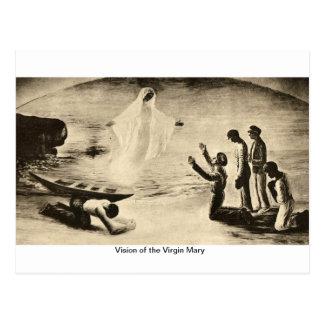 聖母マリアの視野 ポストカード