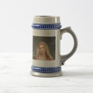 聖母マリア ビールジョッキ