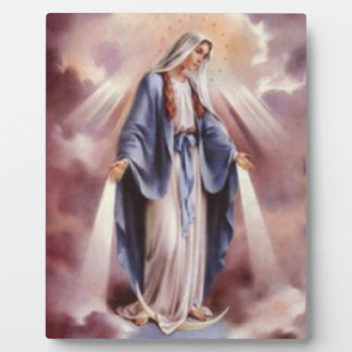 聖母マリア フォトプラーク