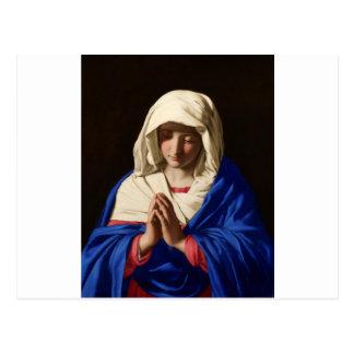 聖母マリア ポストカード