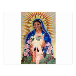 聖母マリア- Ofグアダルペ私達の女性 ポストカード