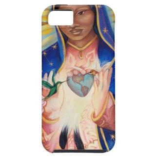 聖母マリア- Ofグアダルペ私達の女性 iPhone SE/5/5s ケース