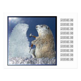聖燭節の氷像 ポストカード
