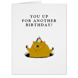 聖燭節の誕生日 カード