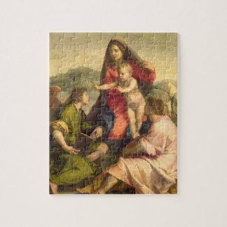 聖者および天使、c.のヴァージンそして子供 ジグソーパズル