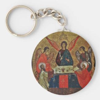 聖者が付いている三位一体 キーホルダー