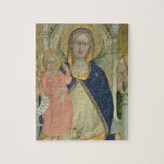 聖者と即位するマドンナおよび子供はSH詳しく述べます ジグソーパズル