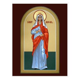 聖者のアビゲイルの祈りの言葉カード ポストカード