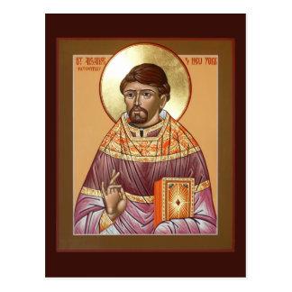 聖者のアレキサンダーHotovitskyの祈りの言葉カード ポストカード