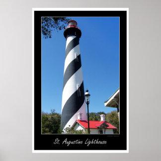 聖者のオーギュスタンフロリダの灯台 ポスター