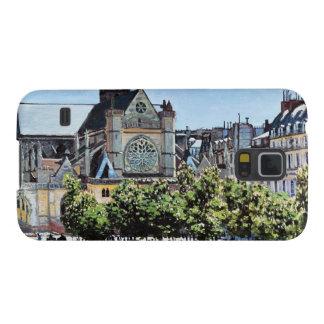 聖者のジェルマンのl'Auxerroisクロード・モネ Galaxy S5 ケース