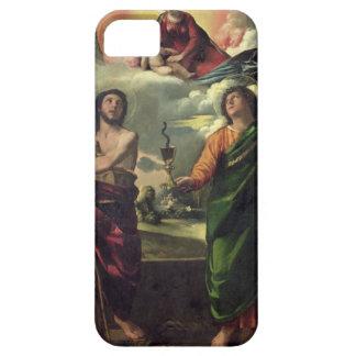 聖者のジョンのThへのヴァージンの亡霊 iPhone SE/5/5s ケース