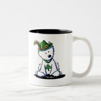 聖者のハンバーグのWestieテリア ツートーンマグカップ