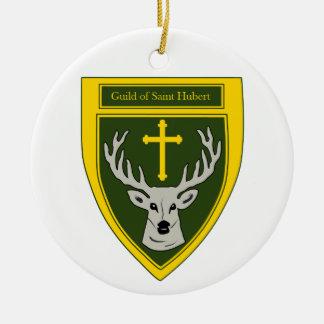 聖者のヒューバートのクリスマスのオーナメントのギルド セラミックオーナメント