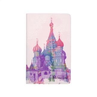 聖者のベズルのカテドラルモスクワ及びカレンダー2015年 ポケットジャーナル