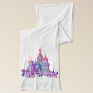 聖者のベズルのカテドラルモスクワ スカーフ