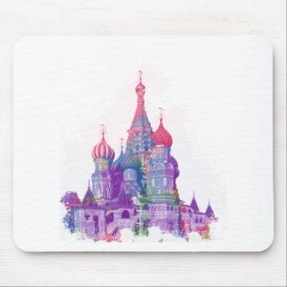 聖者のベズルのカテドラルモスクワ マウスパッド