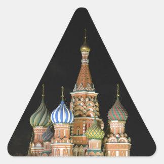 聖者のベズルのカテドラル 三角形シール