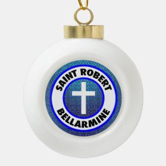 聖者のロバートのBellarmine セラミックボールオーナメント