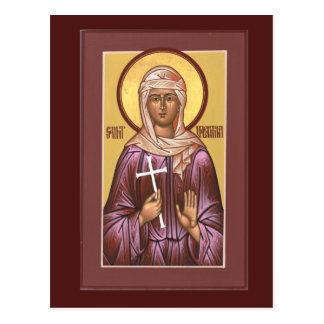 聖者のヴァレンティナの祈りの言葉カード ポストカード