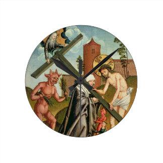 聖者の誘惑 ラウンド壁時計