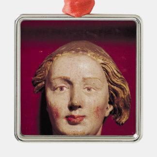 聖者の頭部、c.1520 メタルオーナメント