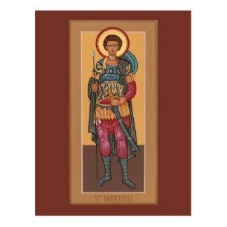聖者のDemetriosの祈りの言葉カード ポストカード
