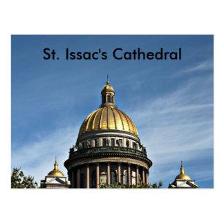 聖者のIssacのカテドラルロシアのSt. Issac猫… ポストカード