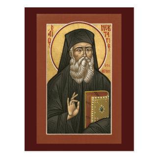 聖者のNektariosの祈りの言葉カード ポストカード