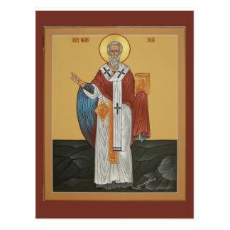 聖者のSilasの祈りの言葉カード ポストカード