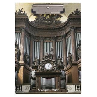 聖者のSulpice器官、パリ クリップボード