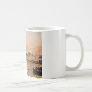 聖者は、ルーアンの朝、5時断絶します コーヒーマグカップ