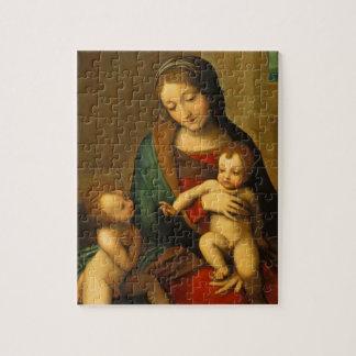 聖者を持つマドンナそして子供 ジグソーパズル