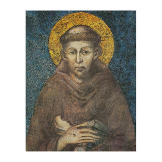 聖者アッシジのフランチェスコ ウッドウォールアート