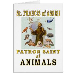 聖者アッシジのフランチェスコ カード