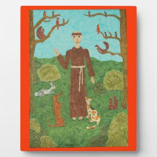 聖者アッシジのフランチェスコ フォトプラーク