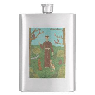 聖者アッシジのフランチェスコ フラスク