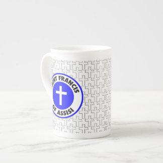 聖者アッシジのフランチェスコ ボーンチャイナカップ